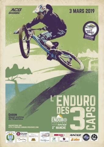 Affiche Enduro des 3 Caps 2019